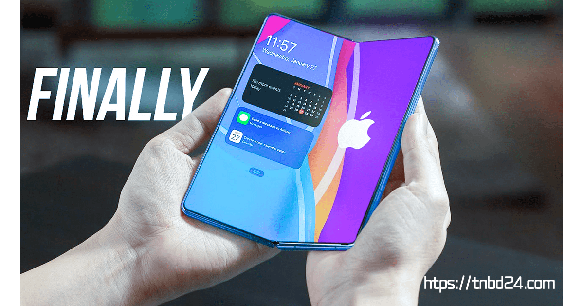 Apple is FINALLY Listening to Samsung for Foldable Device